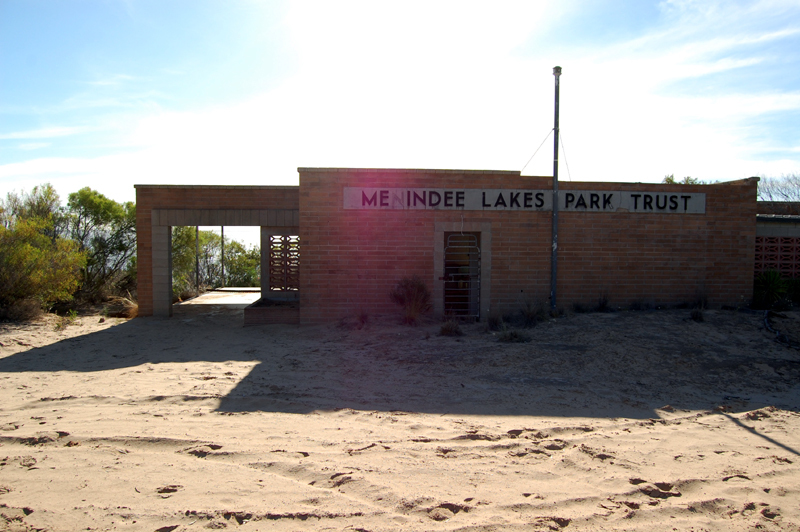 Menindee Lakes abandoned swimming site 1