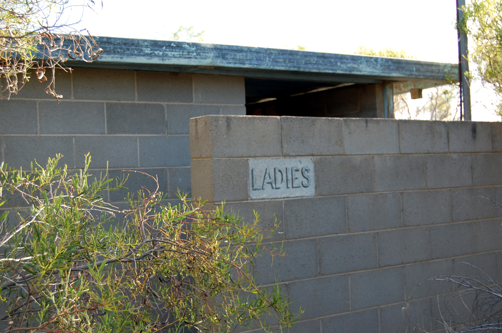 Menindee Lakes abandoned swimming site 4