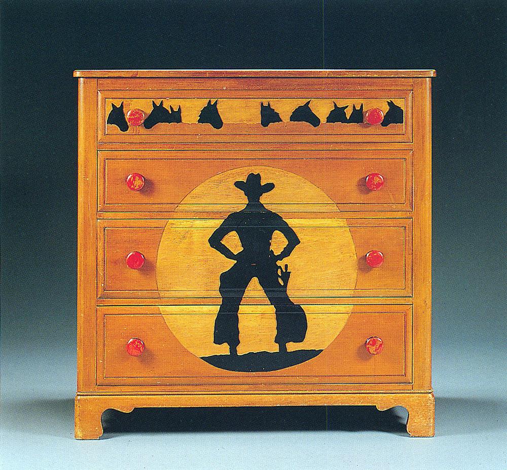 cowboy chest