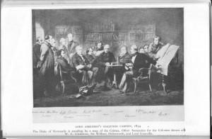 Aberdeen's coalition cabinet 1851