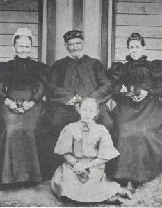 4 generations. Christianna, Hiller nee Petschel, Gotthelf Petschel, Hedwig Kruger, Paula Kruger