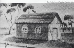Lutheran Church Hamilton 1854
